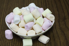五颜六色的蛋白软糖 库存照片