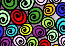 五颜六色的蜗牛 免版税库存图片