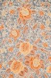 五颜六色的蜡染布布料织品 免版税库存图片