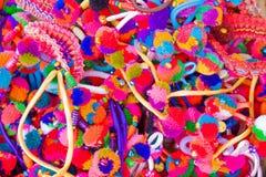 五颜六色的蝶形领结 免版税库存照片