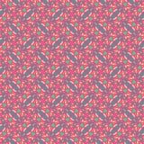 五颜六色的螺旋无缝的样式 库存照片