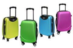 五颜六色的行李 库存图片