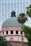 五颜六色的街市tuscon 免版税库存照片