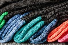 五颜六色的袜子 免版税库存照片