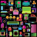 五颜六色的装置 库存图片