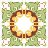 五颜六色的装饰背景 库存图片