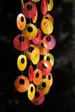 五颜六色的装饰视窗 免版税库存照片