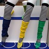 五颜六色的裤子 库存图片