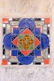 五颜六色的西班牙瓦片III 免版税库存图片