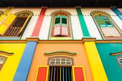 五颜六色的视窗 免版税库存图片