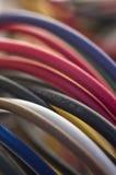 五颜六色的计算机电汇 库存照片