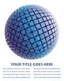 五颜六色的设计数字式地球 免版税库存图片