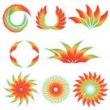 五颜六色的设计梯度 库存照片
