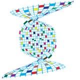 五颜六色的设计正方形 免版税库存图片