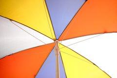 五颜六色的详细资料伞 抽象背景 图库摄影