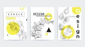 五颜六色的趋向几何构成 库存图片