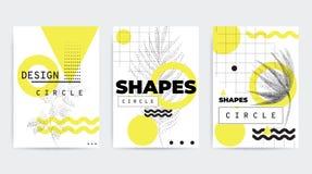 五颜六色的趋向几何构成 库存照片