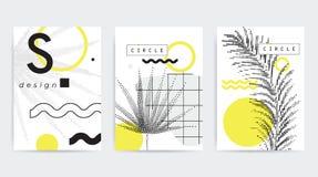 五颜六色的趋向几何构成 免版税库存照片