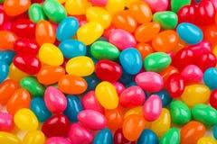 五颜六色的软心豆粒糖 免版税库存照片