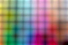 五颜六色的迷离摘要背景 图库摄影