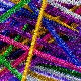 五颜六色的通斗棉条 免版税库存图片