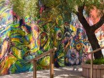 五颜六色的都市艺术品 库存照片