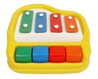 五颜六色的钢琴 免版税库存图片