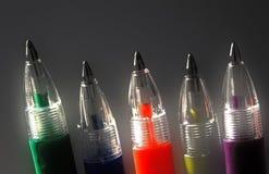 五颜六色的铅笔 免版税图库摄影