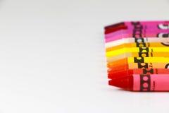 五颜六色的铅笔 库存照片