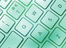 五颜六色的键盘 库存图片
