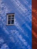 五颜六色的门面, Portmeirion 库存图片