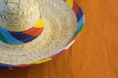 五颜六色的阔边帽 库存图片