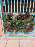 五颜六色的阳台 免版税库存图片