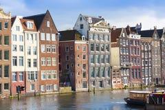 五颜六色的阿姆斯特丹 图库摄影
