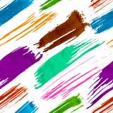 五颜六色的难看的东西无缝的样式 免版税库存图片