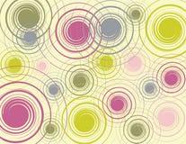 五颜六色的雨漩涡 图库摄影