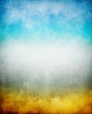 五颜六色的雾 免版税库存照片