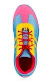 五颜六色的鞋子体育运动 免版税库存照片