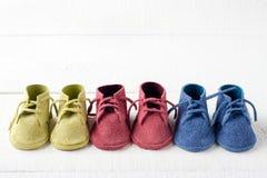 五颜六色的鞋子 免版税库存图片