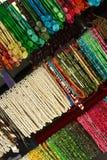 五颜六色的项链 免版税库存照片