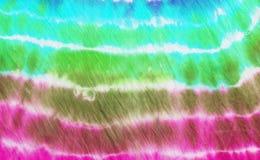 五颜六色的领带染料样式背景 库存照片