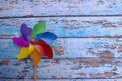 五颜六色的风标 免版税图库摄影