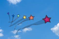 五颜六色的风筝 库存照片
