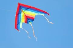 五颜六色的风筝 图库摄影