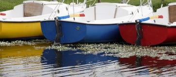 五颜六色的风船佛罗里达 免版税库存照片