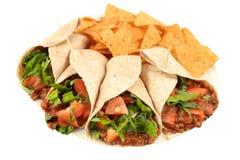 五颜六色的食物墨西哥 免版税库存照片