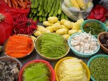 五颜六色的食物 免版税图库摄影