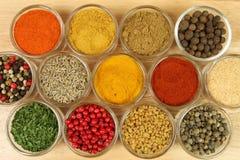 五颜六色的食物 库存图片