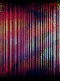 五颜六色的马赛克数据条,向量 免版税图库摄影