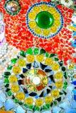 五颜六色的马赛克样式背景 由陶瓷做 免版税库存图片